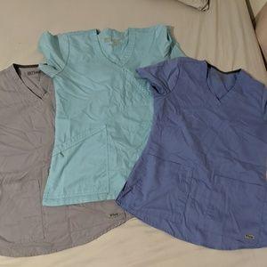 Grey's anatomy Scrub tops